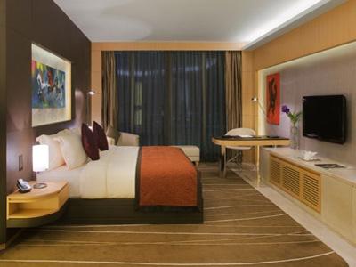 غرفة نوم في فندق الميدان