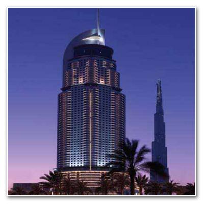 فندق العنوان- وسط مدينة برج دبي