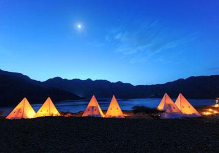 تجربة التخييم في شبه جزيرة مسندم