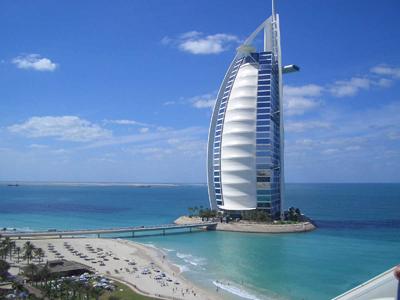 برج العرب على شاطئ جميرا