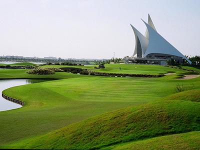 ملاعب الجولف في دبي