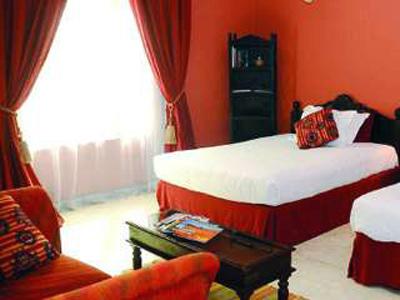 غرفة نوم في بيت الضيافة لاميزون
