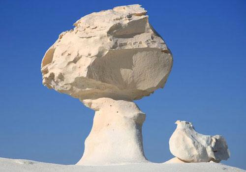 التكوينات الصخربة في الواحات البحرية