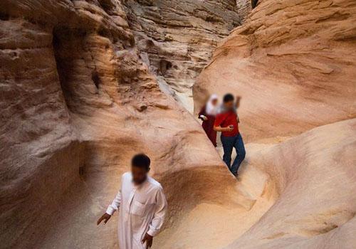 الأخدود الملون ـ  سيناء