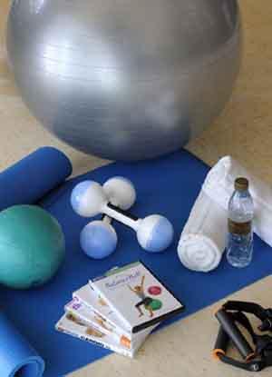 معدات للياقة البدنية