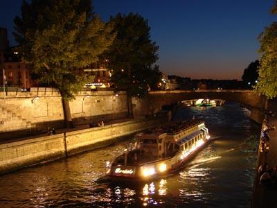 رحلة في نهر السين ـ باريس
