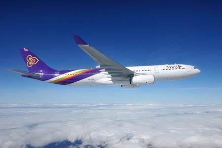 طائرة الخطوط التايلاندية