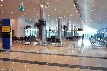 صالة السفر ـ مطار تبوك