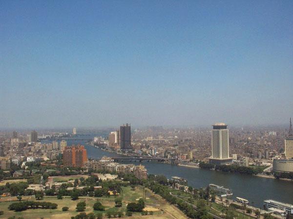 النيل في القاهرة