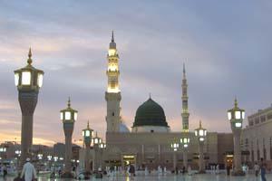 المسجد النبوي ـ المدينة المنورة