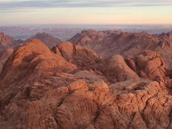 شروق الشمس ـ جبل سيناء