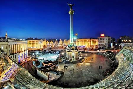 ميدان الاستقلال ـ كييف ـ أوكرانيا