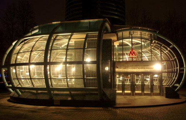 مدخل أحد المحطات ـ مترو موسكو