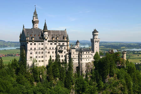 قلعة نويشفان شتاين ـ بافاريا الألمانية