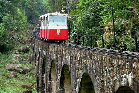 القطار الجبلى ـ جزيرة بينانج