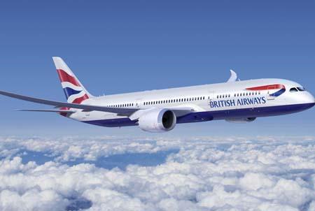 طائرة الخطوط الجوية البريطانية