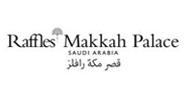"شعار فندق "" قصر مكة رافلز"""