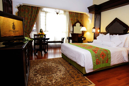 """غرفة """"فندق وسبا أربيان كورت يارد"""" ـ دبي"""