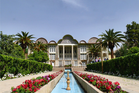 حديقة أرم في شيراز، إيران