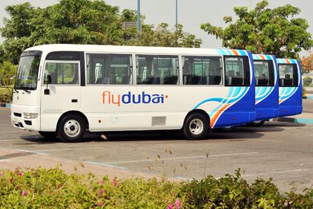 خدمة الحافلات من فلاي دبي