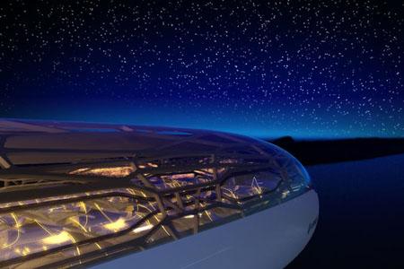 طائرة إيرباص الشفافة المستقبلية