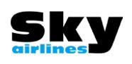 """شعار """"سكاي إيرلاينز"""" التركية"""