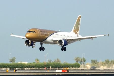 طائرة طيران الخليج