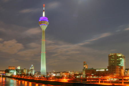برج الراين ـ دوسلدورف، ألمانيا
