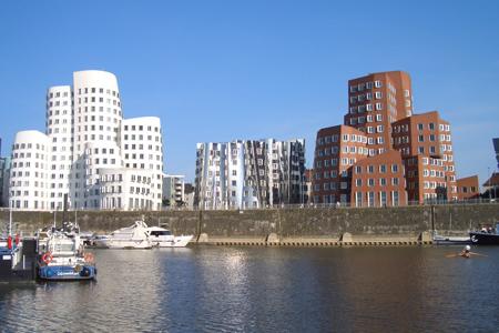 مباني جيري باوتن ـ دوسلدورف، ألمانيا