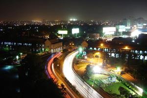 كراتشي ليلاً ـ باكستان