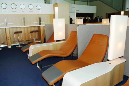 "استراحة ""سيناتور لاونجSenator Lounge ""ـ لوفتهانزا، مطار دبي"
