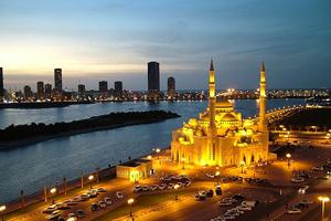 مسجد النور، بحيرة خالد ـ الشارقة