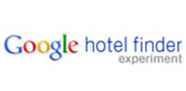 شعار Google Hotel Finder الباحث عن الفنادق