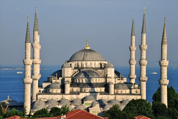 جامع السلطان أحمد أو الجامع الأزرق، إسطنبول ـ تركيا