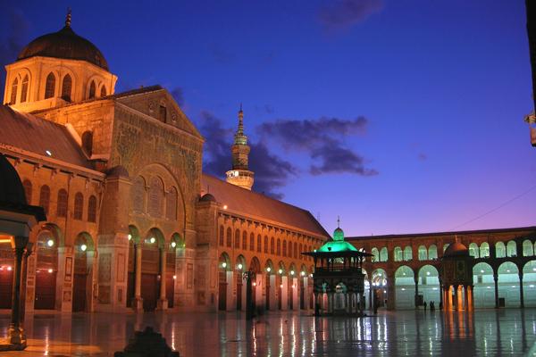 المسجد الأموي ، دمشق ـ سوريا