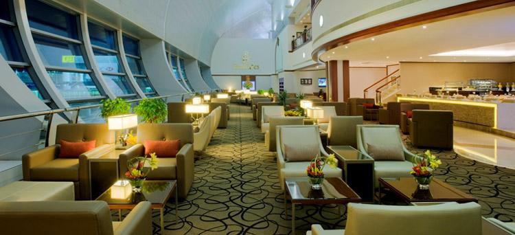 صالة طيران الإمارات للدرجة الأولى ،مطار دبي