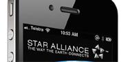 تطبيق تحالف ستار للطيران للآيفون