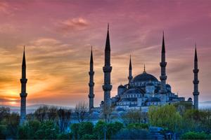 الجامع الأزرق أو جامع السلطان أحمد ـ إسطنبول، تركيا