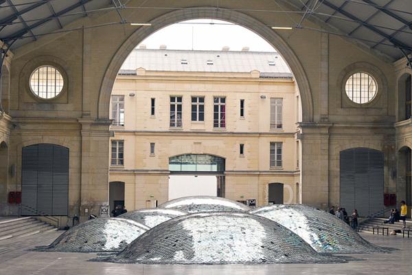 منظر النفايات من الأقراص المدمجة ـ باريس