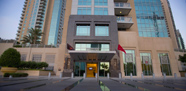 فندق رمادا داون تاون، دبي من الخارج