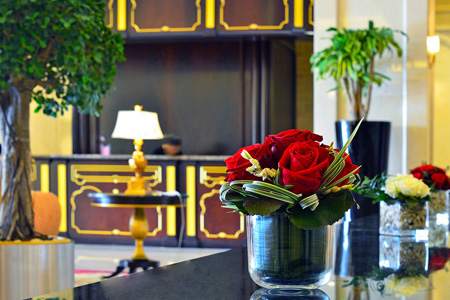 """بهو فندق """"جراند هيريتج الدوحة"""" ـ قطر"""