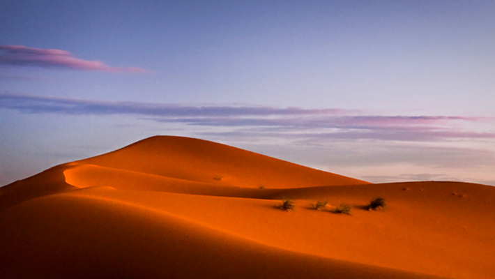 """كثبان """"عرق الشبي""""، صحراء مرزوكة ـ المغرب"""