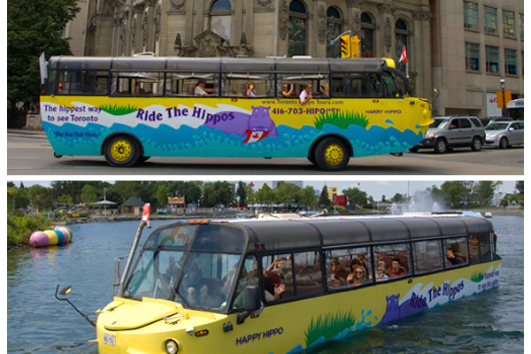 الحافلة العائمة، تورنتو ـ كندا