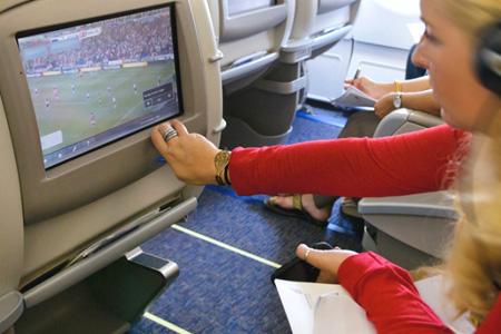 بث تلفزيوني حي من طيران الخليج
