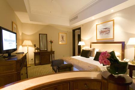 غرفة في فندق ميلينيوم الدوحة