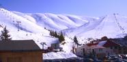 التزلج على الجليد، منطقة فاريا المزار ـ لبنان