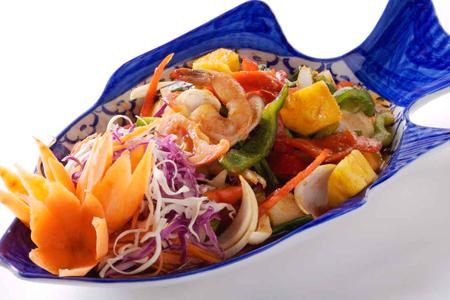 أطعمة بحرية من تايلاند