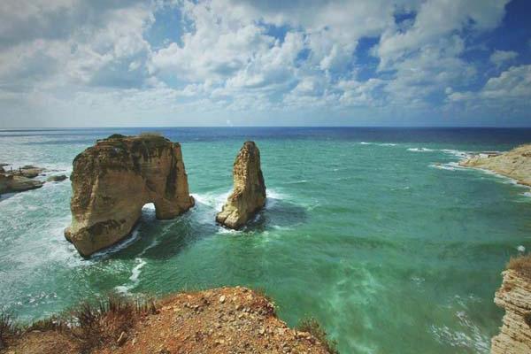 صخرة الروشة، بيروت ـ لبنان
