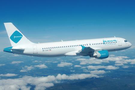 طائرة طيران الجزيرة