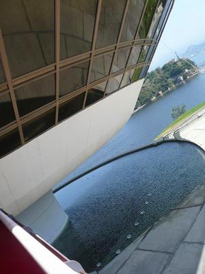 متحف الفن المُعاصر في نيتيروي، البرازيل